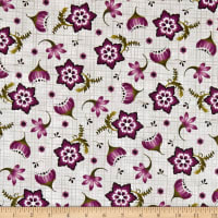 Maywood Studio Amour Stylized Floral Grey
