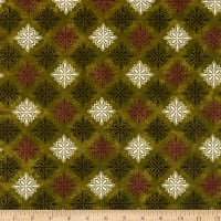 Maywood Studio Amour Medallions Green