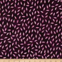 Maywood Studio Amour Leaf Deep Plum