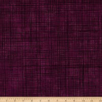 Maywood Studio Amour Plaid Texture Deep Plum