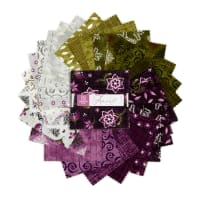 "Maywood Studio Precut Amour 5"" Charm Pack 42 pcs Multi"