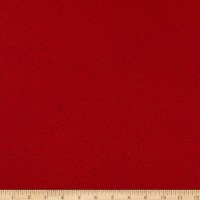 Maywood Studio Warm Wishes Speckled Solid Deep Red