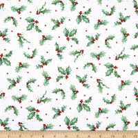 Maywood Studio Warm Wishes Holly Ultra White/Green