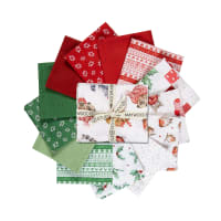 "Maywood Studio Warm Wishes Fat Quarter Bundle (12pcs + 36"" panel) Multi"