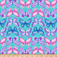 Emelia Dreams On Butterflies Blue