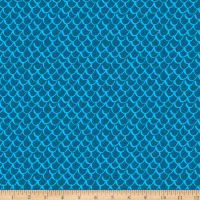 Points Of Hue Scallop Geo Turquoise