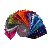 "Points Of Hue Assorted Color 2.5"" Strips 42 pcs Multi"