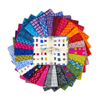 Points Of Hue Assorted Fat Quarters 28pcs