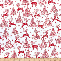 Cotton Sloths Tree Branches Animals Wildlife Pink Fabric Print by Yard D679.51
