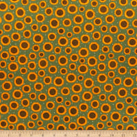 Benartex Rustic Fall Rustic Sunflower Leaf