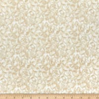 Benartex Winterberry Winter Scroll Cream