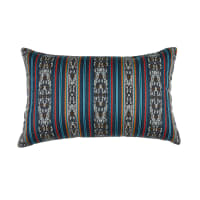 "Sunbrella Artistry Indoor/Outdoor Pillow 20"" x 12"" Indigo"