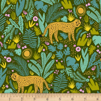 EXCLUSIVE Kaufman Hello Lucky! Lawns Cheetah Forest
