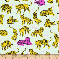EXCLUSIVE Kaufman Hello Lucky! Lawns Tigers Sunshine