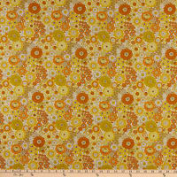 Lewis & Irene Flower Child Far Out Floral Yellows