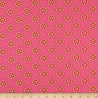 Lewis & Irene Flower Child Funky Daisy Hot Pink