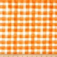 Maywood Studio Spellcaster's Garden Plaid Orange