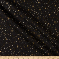 Maywood Studio Glad Tidings Metallic Star Bright Rich Black