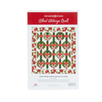 Maywood Studio Glad Tidings Metallic Quilt Kit Multi