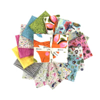 Clothworks Forest Babes Fat Quarter Pack 15pcs Multi