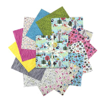 "Clothworks Forest Babes 10"" Squares 42pcs Multi"