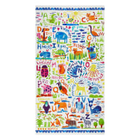 "Clothworks Animal Magic 24"" Panel Multi Bright"