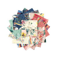 "Clothworks Fresh Meadow 5"" Squares Multi 42 pcs"