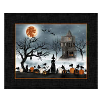 "Harvest Moon 36"" Panel Black"