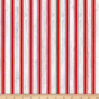 Christmas Memories Candy Cane Stripe Red