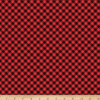 Snow Place Like Home Buffalo Plaid Red