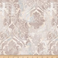 "108"" Fiorenza Digital Damask Taupe"