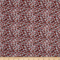 Paintbrush Studios Flamingo Christmas Leopard Red/Pink/Black