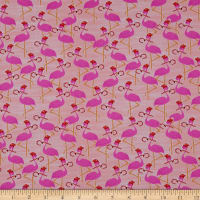 Paintbrush Studios Flamingo Christmas Flamingos Red/Pink