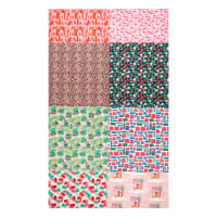 Paintbrush Studios Fabrics Flamingo Christmas 8 Pc Fat Quarter Bundle Multi