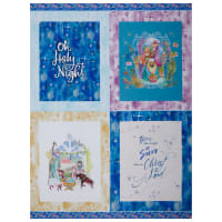 "Paintbrush Studios Christmas Peace Placemat 36"" Panel Multi"
