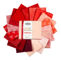 Art Gallery Color Master Elements 16 pc Fat Quarters Cranberry Edition
