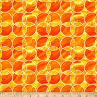 Aziza Circles Orange