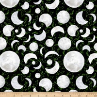 Booville Glow in the Dark Moons Black