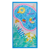"Pool Party Pool Panel 24"" Light Blue"