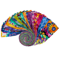 "Aziza Assorted Color 2.5"" Strips 40pcs Multi"