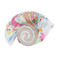 "Boho Bouquet Assorted Color 2.5"" Strips 42pcs Multi"