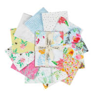 Boho Bouquet Assorted Fat Quarters 14pcs Multi
