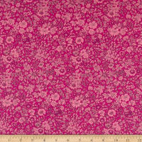 Liberty of London High Summer Flower Show Emily Silhouette Magenta