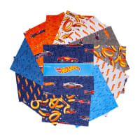 "Riley Blake Designs Hot Wheels 10"" Stackers 42pcs"