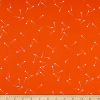 Riley Blake Designs Pin Drop Color Orange