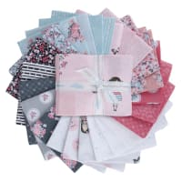 Riley Blake Abbie's Garden Fat Quarter Bundle 24 Pcs. Multi