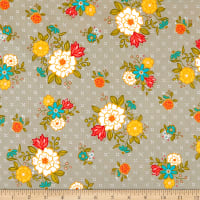Riley Blake Designs Shades Of Summer Main Grey