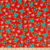 Riley Blake Shades Of Summer Floral Red