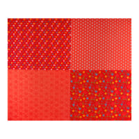 Riley Blake Shades Of Summer Fq Panel Red