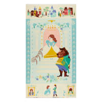 """Riley Blake Designs Beauty And The Beast 24"""" Panel Blue"""